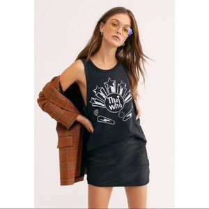 Free People X Chaser The Who burnout band tank